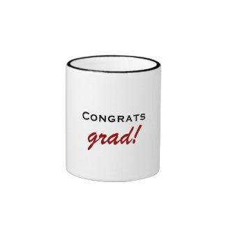 Glückwunschabsolvent-Tasse