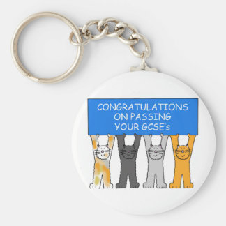 Glückwünsche auf dem Führen Ihrer GCSE Schlüsselanhänger