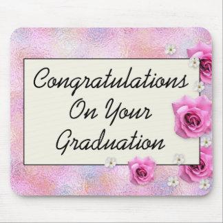 Glückwünsche auf Ihnen Abschluss Mousepad