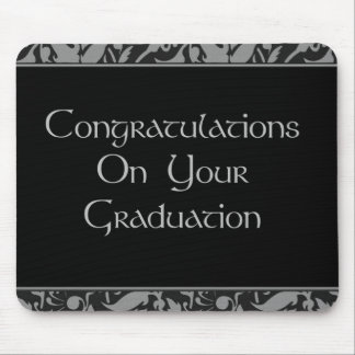 Glückwünsche auf Ihrem Abschluss Mauspad