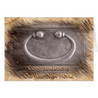 Glückwünsche auf Ihrem neuen Zuhause 2 Karte