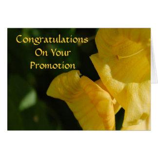 Glückwünsche auf Ihrer Werbeaktion-Karte Grußkarte