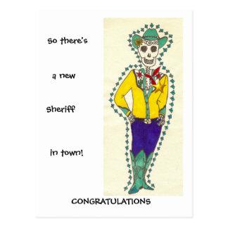 Glückwünsche auf Ihrer Werbeaktion Postkarte