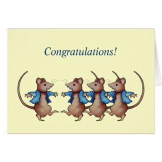 Glückwünsche: Erfolgte Sachen Ihre eigene Weise: M Grußkarte