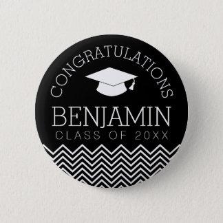 Glückwünsche graduieren Abschluss KÖNNEN Runder Button 5,1 Cm