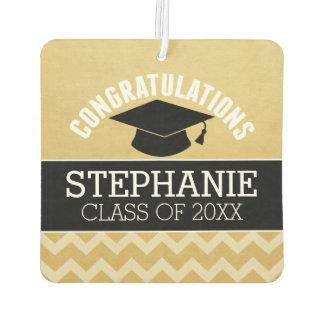 Glückwünsche graduieren - personalisierten lufterfrischer