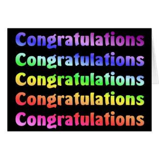 Glückwünsche Karte