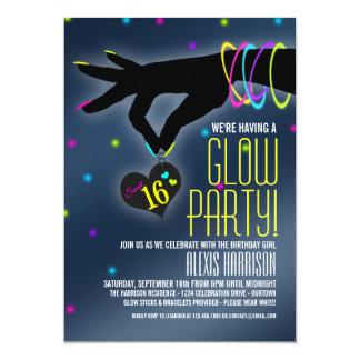 Glühen-Party Einladungen des Bonbon-16
