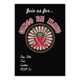 Glühend! Party Einladungen Cinco Des Mayo