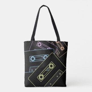 Glühende AudioKassetten Tasche