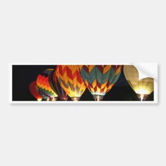 Glühende Ballone!  Leuchten Sie der Nacht! Auto Aufkleber