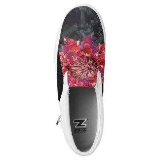 Glühende Blume Slip-On Sneaker