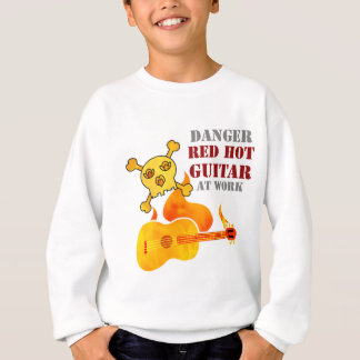 Glühende Gitarre Sweatshirt