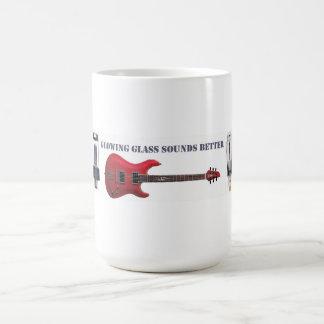 Glühende Glastöne besser Kaffeetasse