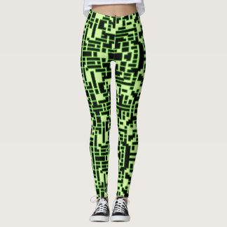 Glühende Pixel Leggings