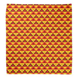 Glühende Rhombus™ Bandanna Kopftücher