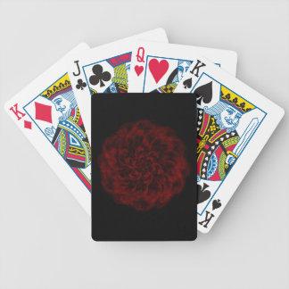 Glühende Romance Rosen-Spielkarten Bicycle Spielkarten