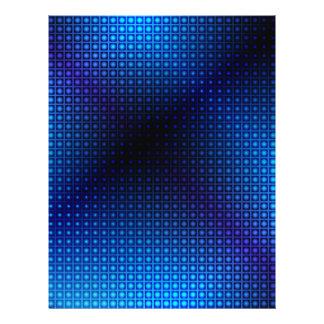 Glühender abstrakter Hintergrund 21,6 X 27,9 Cm Flyer