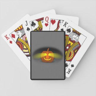 Glühender Kürbis - Spielkarten