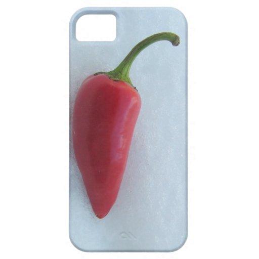 Glühender Paprika iPhone 5 Hüllen