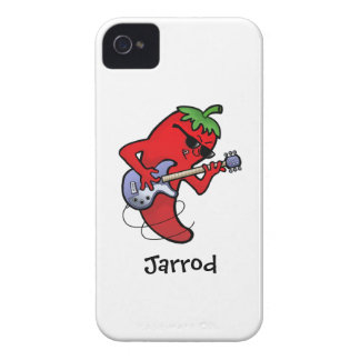 Glühender Paprika-Rocker iPhone 4 Case-Mate Hülle