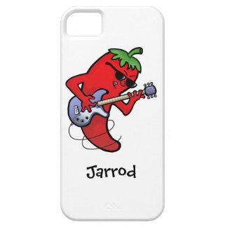 Glühender Paprika-Rocker iPhone 5 Case
