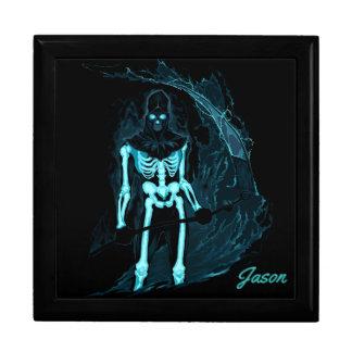 Glühender Skeleton Andenken-Kasten Geschenkbox