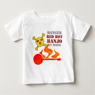 Glühendes Banjo Baby T-shirt