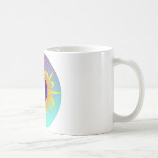 Glühendes Sunmoon Kaffeetasse
