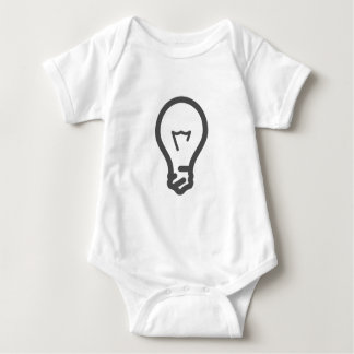 Glühlampe Baby Strampler