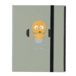 Glühlampe der Fitness mit Gewicht Etui Fürs iPad