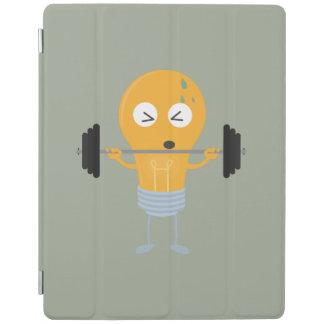 Glühlampe der Fitness mit Gewicht Z1zu3 iPad Smart Cover