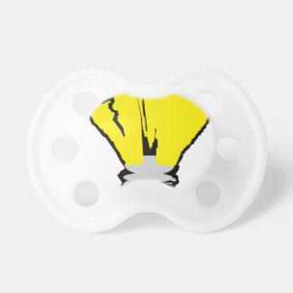 Glühlampe-Idee Schnuller