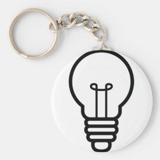 Glühlampe Schlüsselanhänger