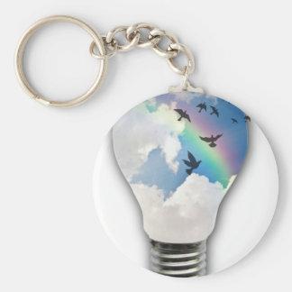 Glühlampe-wirklich Sporn-gute Ideen Schlüsselanhänger