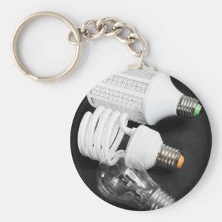 Glühlampegenerationen Schlüsselanhänger