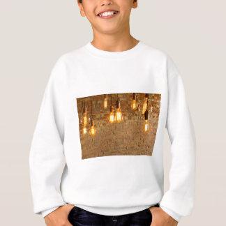 Glühlampen-Hintergrund Sweatshirt