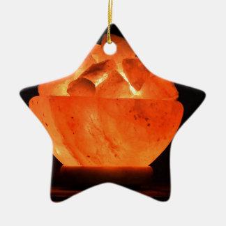 Glut-Feuer-Lust Keramik Stern-Ornament