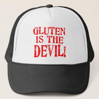 Gluten ist der Teufel Truckerkappe