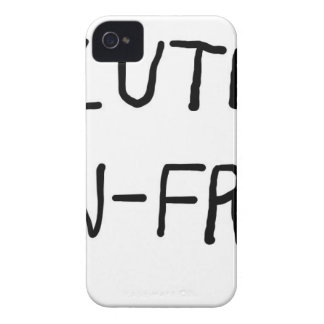 Gluten Unfree iPhone 4 Cover