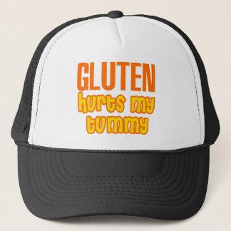 Gluten verletzt meinen Bauch Truckerkappe