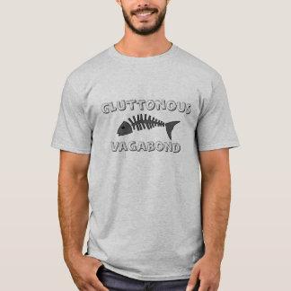 Gluttonous Vagabund - Funky Feinschmecker-T - T-Shirt