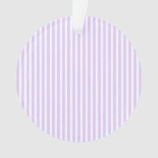 Glyzinie-lila Lavendel-Orchidee u. weißer Streifen Ornament