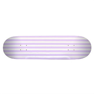 Glyzinie-lila Lavendel-Orchidee u. weißer Streifen Skateboarddeck