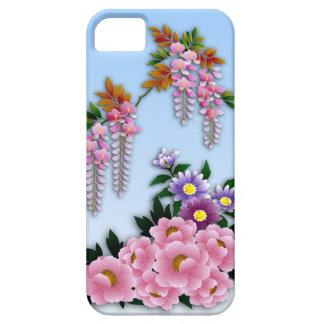Glyzinie- und Pfingstrosenfrühlingsblüte Schutzhülle Fürs iPhone 5