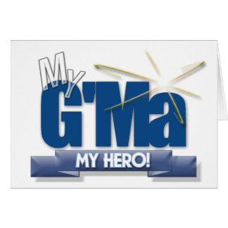 G'Ma mein Held! Große Geschenke für großartige Karte