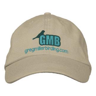 GMB grundlegender Hut farbiges Logo 2x Bestickte Baseballcaps