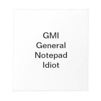 GMI Notizblock
