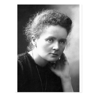 gnädige Frau marie Curie Postkarten