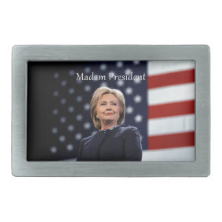 Gnädige Frau Präsident Art 1 Rechteckige Gürtelschnalle